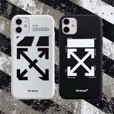 オフ-ホワイト女性向け iphone 12/12 pro/12 mini/12 pro maxケース男女兼用人気ブランド iphone xr/xs maxケースiphone 11/11 pro/11 pro maxケース ビジネス ストラッ