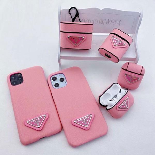 プラダ iphone 12/12 mini/12 pro/12 pro maxケース prada ビジネス ファッション セレブ愛用 iphone11/11pro maxケース 激安 エアポッド Airpods 1/2/3/proケース i