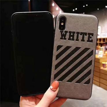 オフ-ホワイトアイフォンiphonex/8/7 plus/se2ケース ファッション経典 メンズシンプルiphone 12/12 mini/12 pro/12 pro maxケース ジャケットレディース アイフォンiphone xs/11/