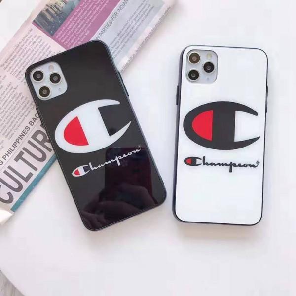チャンピオンIphone xr/11/11pro maxケース ビジネス ストラップ付きアイフォンiphonex/8/7 plusケース ファッション経典 メンズ個性潮 iphone x/xr/xs/xs maxケース ファッションiPho