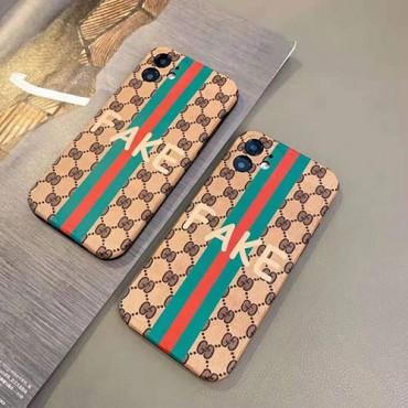 Gucci/グッチ ペアお揃い アイフォン12/12 pro maxケース ファッション セレブ愛用 iphone12mini/11pro maxケース 激安シンプル iphone 11/xs/x/8/7ケース ジャケットレディース アイフォ おまけつき