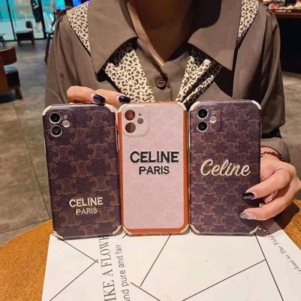 セリーヌブランド iphone12/12 pro max/12 mini/12 pro maxケース かわいいペアお揃い アイフォン11ケース iphone xs/x/8/7/se2ケース男女兼用人気ブランドiphone 11/11 pro