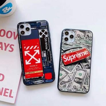 シュプリーム女性向け iphone xr/xs maxケースiphone12/12pro max/12 pro/12 miniケース ビジネス ストラップ付き個性潮 iphone x/xr/xs/xs maxケース ファッションメンズ ip