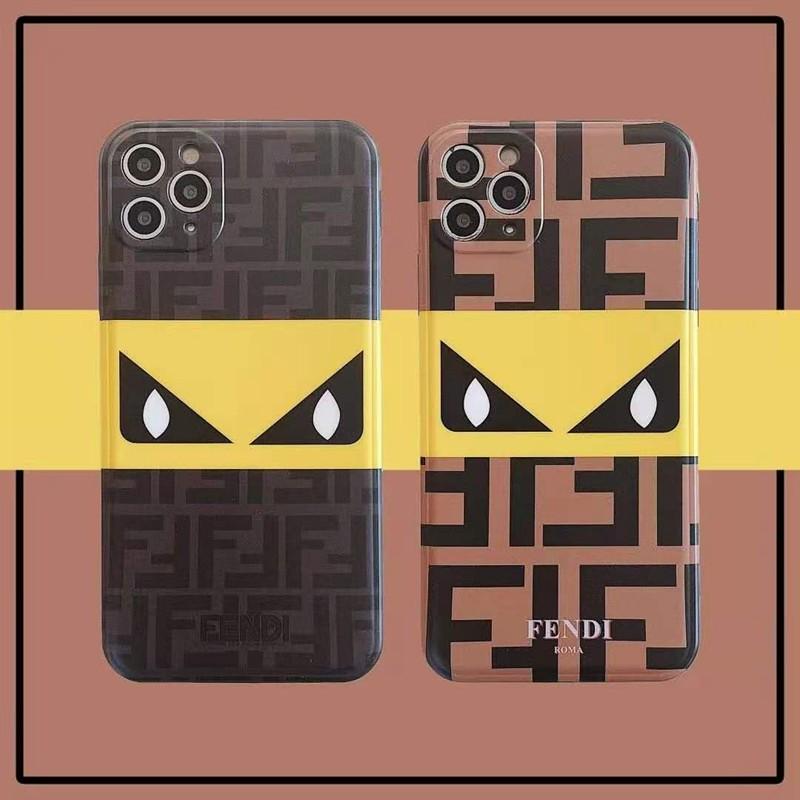 フェンデイ女性向け iphone 12/12 mini/12pro/12Pro maxケースファッション セレブ愛用 iphone11/11pro maxケース 激安ins風iphone 7/8/se2ケースケース かわいいメンズ ipho