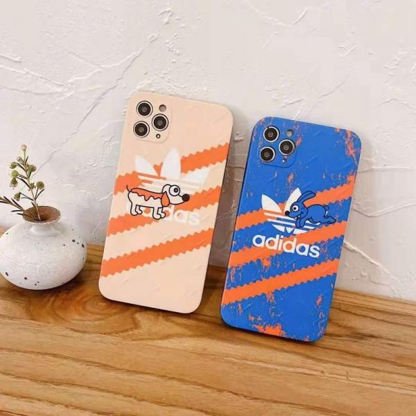アディダス激安 iphone 12/12 pro/12 pro max/12 miniケースiphone 7/8/se2ケース 韓国風激安 iphone 11 アイフォン 11 pro max ケース?ジャケットスマホケース コピー