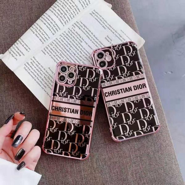 Dior/ディオール 人気ブランド iphone12/12mini/12pro/12promaxケース ビジネス アイフォン12カバー キラキラ バッグ型 ブランド iphone x/8/7 plus/11proケース 大人気 男女兼用 レディース