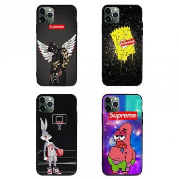Supreme シンプル iphone12/12pro max シュプリーム Galaxy s20/note20ケース ジャケット xperia5iiケース ブランド ジャケット型 2020 iphone12ケース 高級 人気 aquos r5gケース 大人気 カスタム対応