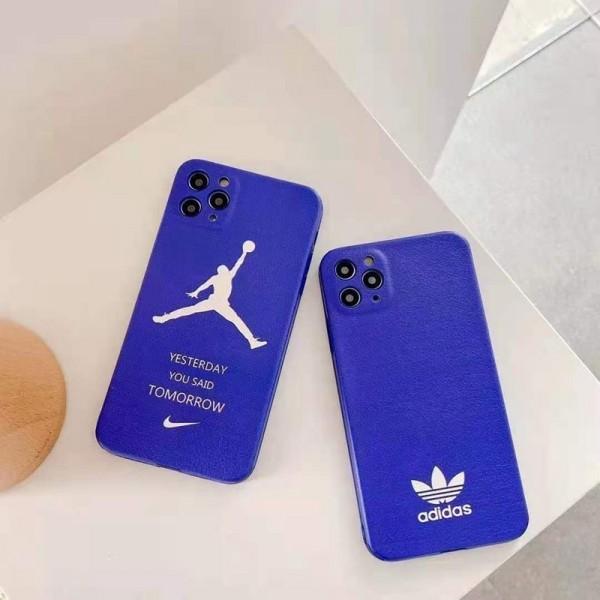 ブランドNike/Adidas iphone12/12pro maxケース かわいい女性向け個性潮 iphone x/xr/xs/xs maxケース ファッションiphone 11/x/8/7スマホケース ブランド LINEで簡単にご注文可