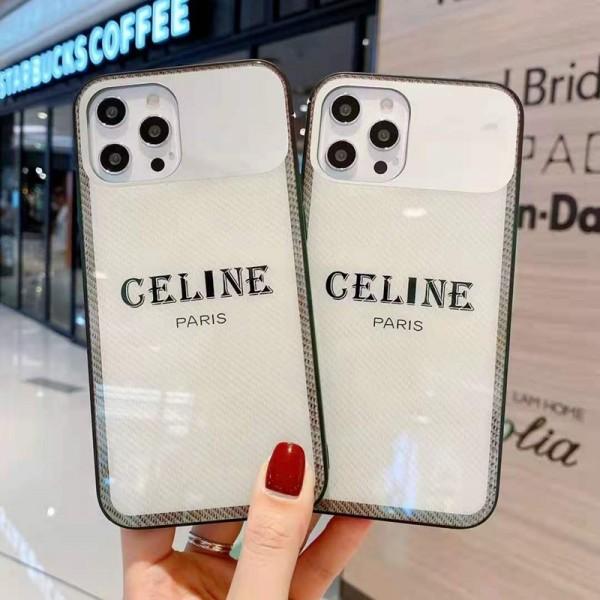 セリーヌ iphone12/12mini/12pro/12promaxケース シンプルiphone xs/x/8/7 plusケース ファッション経典 メンズ  iphone11/11pro/11 pro maxケース