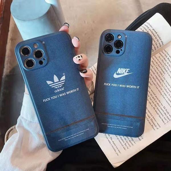 ナイキ アイフォンiphone 12/12mini/12 plus/se2ケース アディダス ファッション経典 メンズ個性潮ファッションins風ケース かわいいモノグラム iphone11/11pro maxケース ブランド