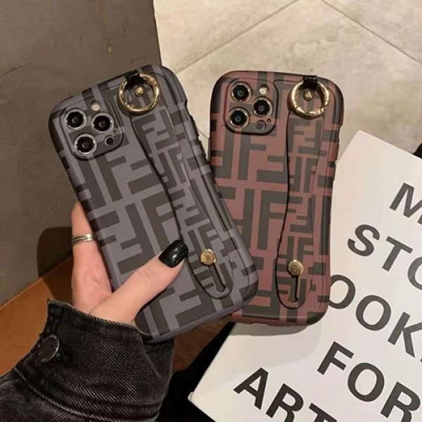 フェンデイ ブランド iphone12/12pro maxケース かわいい ビジネス 縫い布製 個性潮 おまけつき iphone x/xr/xs/xs max/8plus/11proケース ファッション アイフォン12mini/12 pro