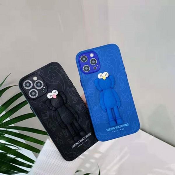 カウズ ブランド iphone12/12pro maxケースIphone xr/11/11pro maxケース かわいいシンプルジャケットメンズ iphone 7/8/se2ケース 安いiphone xr/xs max/11proケースブラ