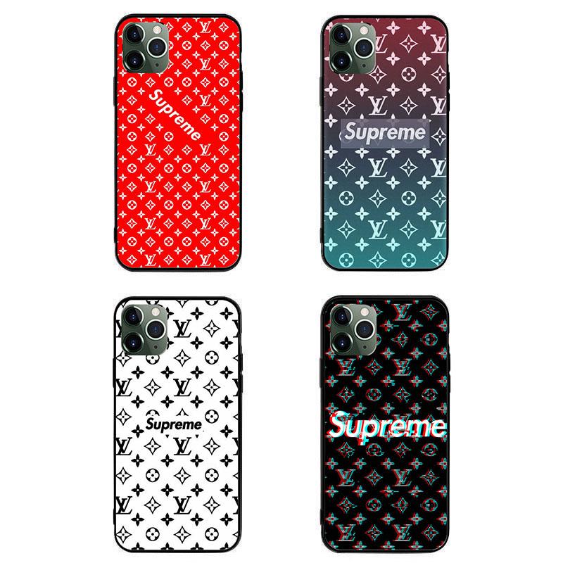 シュプリーム ペアお揃い アイフォン13/12 pro maxケース 全機種対応 galaxy note20 うずまきナルト xperia1iiiケース NARUTO アイフォンiphone xs/x/8/7 plus