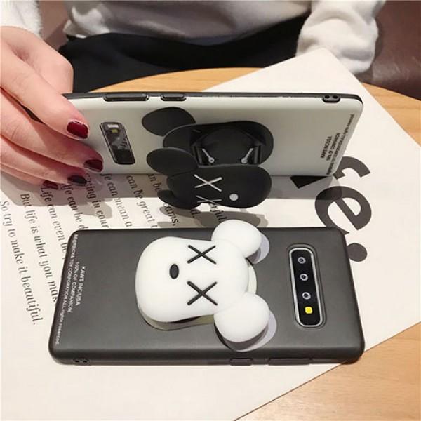 KAWS 個性潮 iphone x/xr/xs/xs maxケース ファッションiphone 11/x/8/7/se2スマホケース ブランド LINEで簡単にご注文可メンズgalaxys20/ note10 s10/s9 plusケース 安いモノグラム
