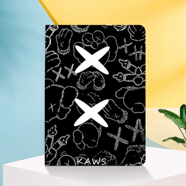 Kaws  ブラント iPad Air4 10.9インチケース  コピーiPad air4 ミニ5/4/3/2/1手帳型カバー ブランドパロディ?レプリカ日本未入荷iPad Proケース 9.7インチ 2018/2017新型 iPad pro 9.7 11 12.9インチケース ブランド