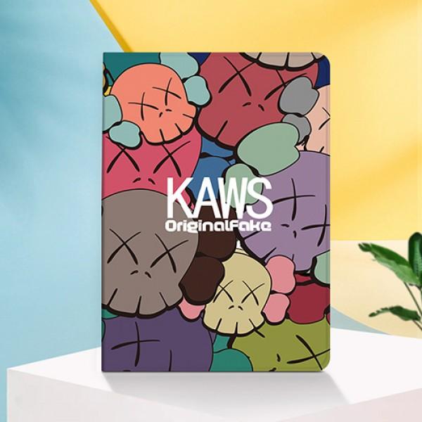 KAWS ipad8 pro 12.9/11inch 2020ケース ブランド メンズ レディースブラント iPad Air4 10.9インチケース  コピーiPad ミニ5/4/3/2/1手帳型カバー ブランドパロディ?レプリカ日本未入荷アイパッド プロ2020ケース 激安 オーダーメイド