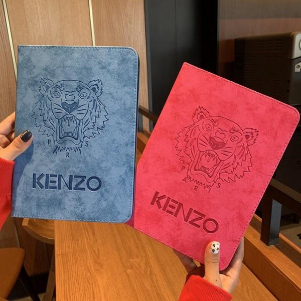 Kenzo アイパッドエア1/2/3ケース 横開きモノグラム ダミエ アイパッド 6/5/4/3/2ケース 手帳型ブラント iPad Air 10.5インチケース  コピーアイパッド プロ2020ケース 激安 オーダーメイド