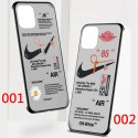 Off-White x Nikeコラボ ペアお揃い アイフォン12/12mini/12 pro maxケースgalaxy note20/note10ケースhuawei p30/p20ケースブランドアイフォン12カバー レディース バッグ型 ブランド Galaxy s20/s10+ ースiphone 11/xs/x/8/7ケース大人気
