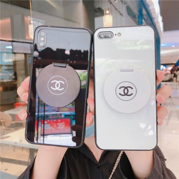Chanel iphone12/12mini/12promaxケース ビジネス ストラップ付き個性潮 iphone x/xr/xs/xs maxケース ファッションins風 かわいいiphone7/8plus/se2//11proケースブランド