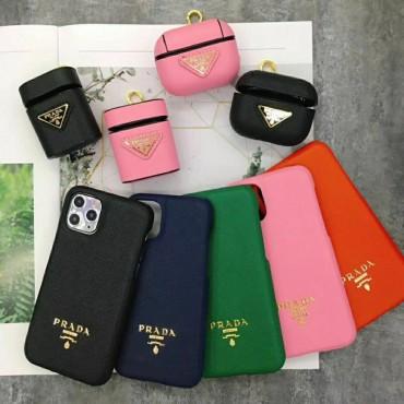 Prada/プラダ ブランド アイフォiphone12/xs/11/8 plusケースケース かわいい個性潮 iphone x/xr/xs/xs maxケース ファッションシンプル airpods proケース ジャケットレディース  おまけつき
