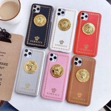 Versace ペアお揃い アイフォン12/12 pro maxケース女性向け iphone 11/x/8/7スマホケース ブランド LINEで簡単にご注文可レディース アイフォiphone12/xs/11/8 plusケース おまけつき
