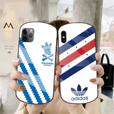 Adidas/アディダス ins風 iphone12/12mini/12pro/12promaxケースかわいいメンズ iphone11/11pro maxケース 安いiphone xr/xs max/8plus/se2ケースブランドiphone 12ケース ファッション