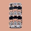 Moschino ファッション セレブ愛用 iphone12/12pro maxケース 激安iphone 11/x/8/7スマホケース ブランド LINEで簡単にご注文可シンプル  ジャケットモノグラム iphone12/11pro maxケース ブランド