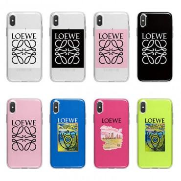 LOEWE/ロエベ iphone12/12pro galaxy note20/s20/note10 s10/s9plusケース ビジネス ストラップ付きhuawei mate40/p40proケース ファッション経典 メンズiphone 11/x/8/7スマホケース