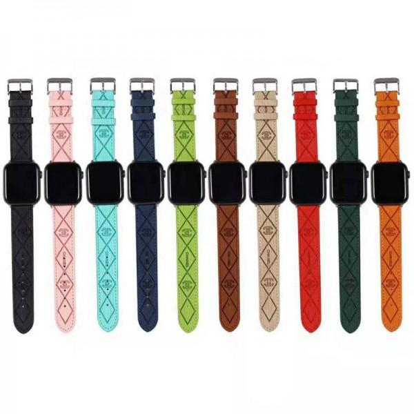 Chanel/シャネル ブランドアップルウォッチバンドApple Watch 6/5/4/3ベルト 交換用アップルウォッチ6/se 2020 バンド ブランド レディースバンド 女性 人気