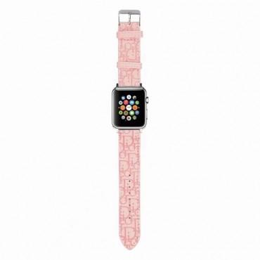 Dior/ディオール ブランドアップルウォッチバンドApple Watch 6/5/4/3ベルト 交換用バンド  人気かわいい