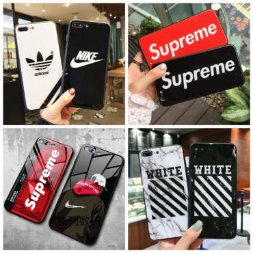 Supreme/Adidas ペアお揃い アイフォン12mini/12 pro maxケース 個性潮 Nike/Off-White ファッションiphone 11/x/8/7スマホケース ブランド LINEで簡単にご注文可ジャケット型 2020 iphone12ケース 高級 人気