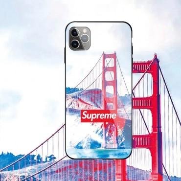 LV / Supreme  ブランド iphone12pro/12pro maxケース かわいいペアお揃い アイフォン iphone 11/xs/x/8/7ケースアイフォン12カバー レディース バッグ型 ブランドiphone 12ケース ファッション