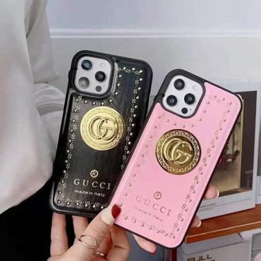 Gucci/グッチ iphone 12/12 mini/12 pro/12 pro max ケースグッチ iphone11/11pro/11pro maxケースブランド gucci iphone xr/xs maxケース アイフォン x/8/7 plusケースお洒落 高級
