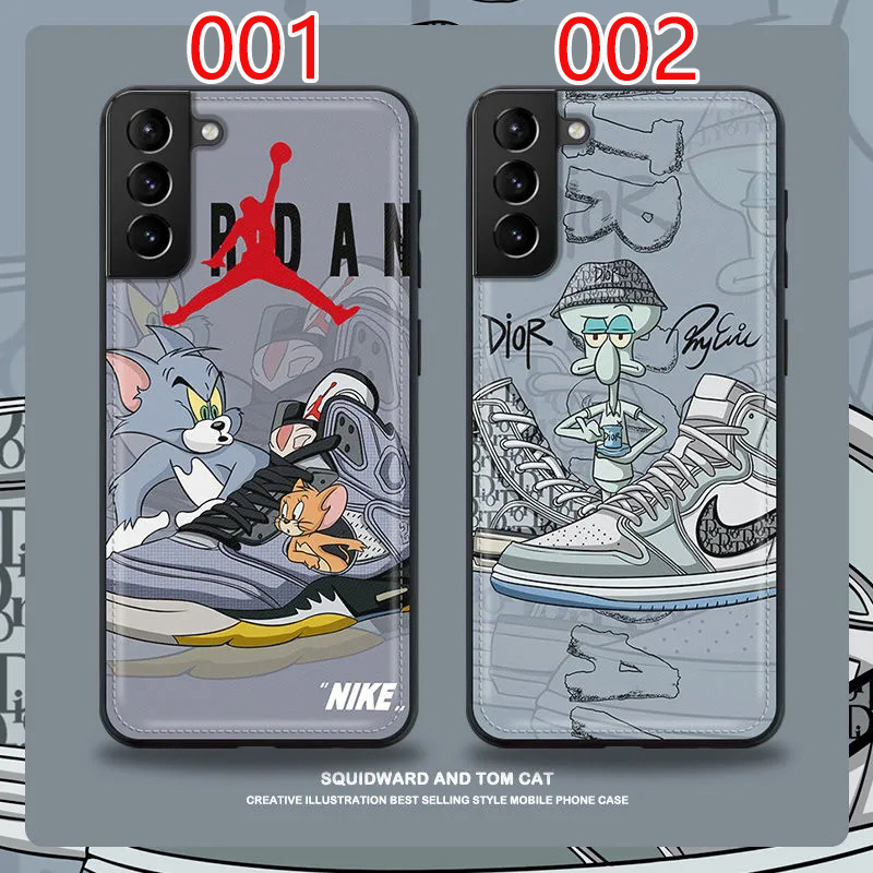 シンプル Galaxy s20/note20/s10/s9 plusケース ジャケット